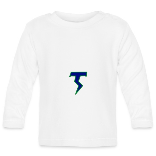 Thunder T png - Baby Long Sleeve T-Shirt
