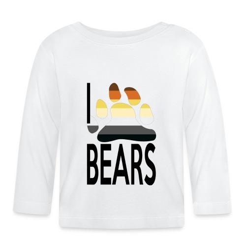 I love bears - T-shirt manches longues Bébé