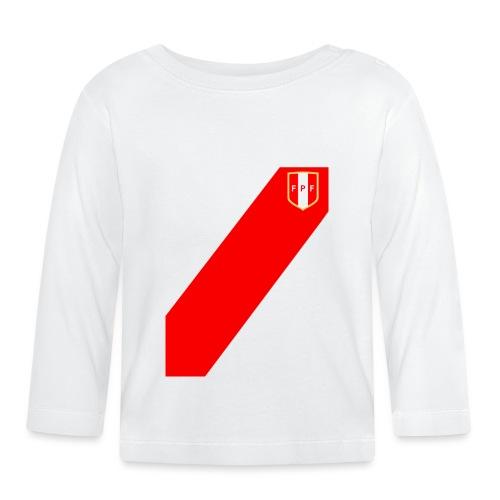 Seleccion peruana de futbol (Recto-verso) - T-shirt manches longues Bébé
