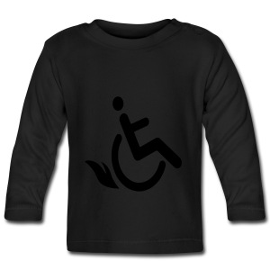 Wheelchairflame1 - T-shirt