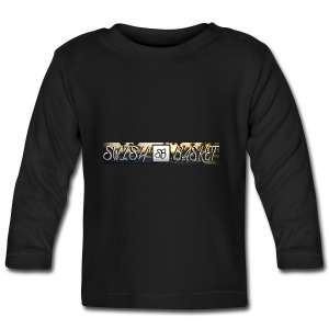 hd-basketball-court-wallpaper-hd-resolution - Långärmad T-shirt baby