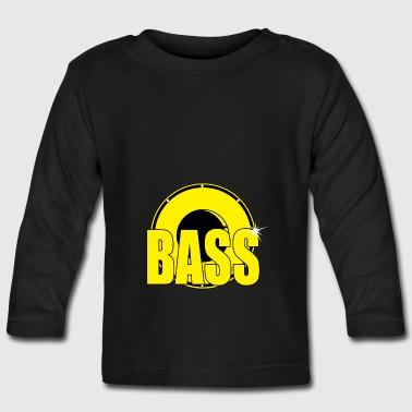 BASS - Langarmet baby-T-skjorte