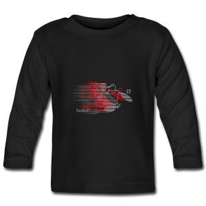 Radball | Earthquake Red - Baby Langarmshirt