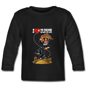 I love to dance between the lines - T-shirt