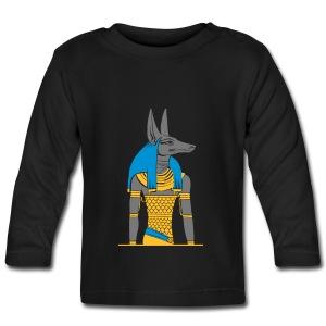 Der altägyptische Gott Anubis - Baby Langarmshirt