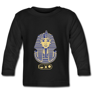 Tutanchamun (zweifarbig) - Baby Langarmshirt