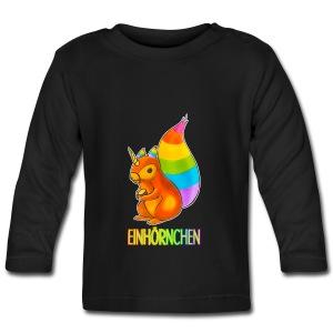 Einhörnchen - Baby Langarmshirt