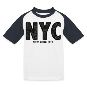 NYC - Kids' Baseball T-Shirt