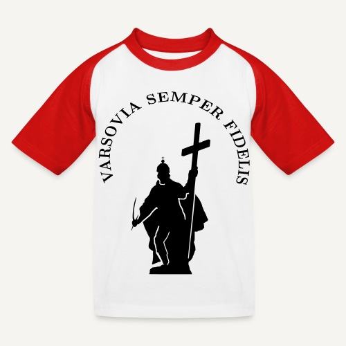 varsoviasf - Koszulka bejsbolowa dziecięca