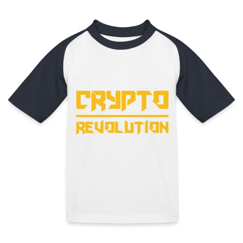 Crypto Revolution III - Kids' Baseball T-Shirt