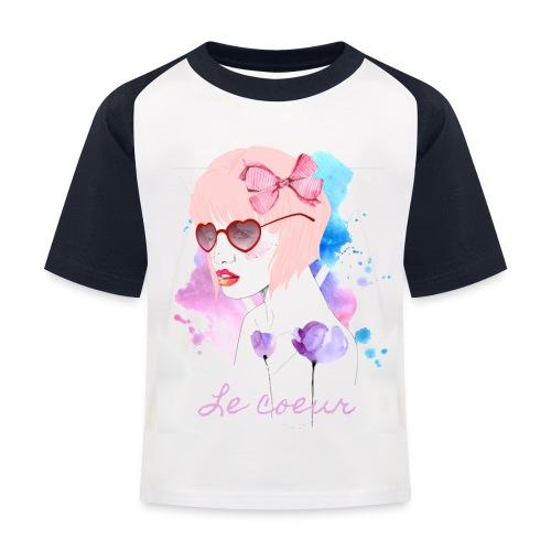Le coeur - T-shirt baseball Enfant