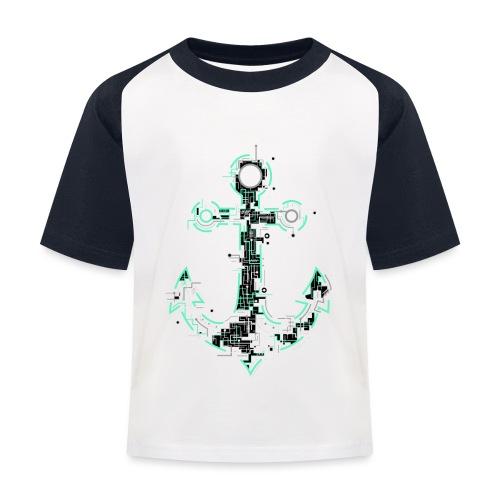 Cyber Anker Tshirt ✅ Elektro Anker Tshirt - Kinder Baseball T-Shirt