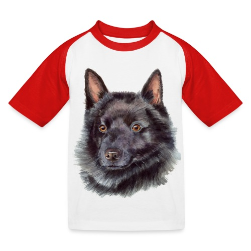 schipperke - M - Baseball T-shirt til børn