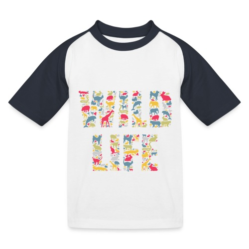 Wild Life - Kinder Baseball T-Shirt