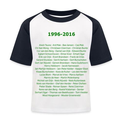 tekening4 - Kinderen baseball T-shirt