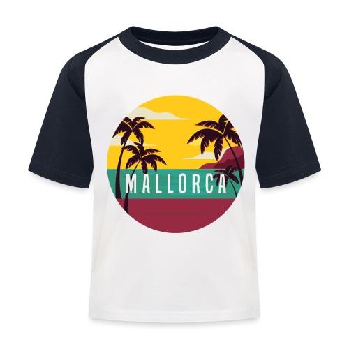 Mallorca - Kinder Baseball T-Shirt