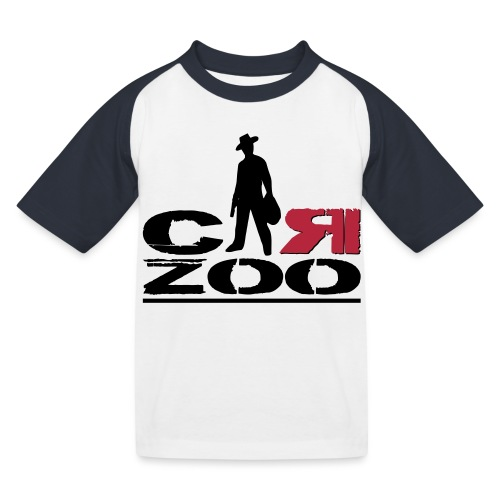 logo definitif en 2 parti - T-shirt baseball Enfant