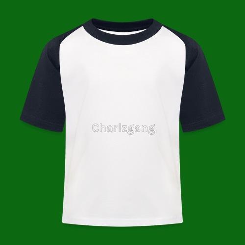 Charlzgang - Kids' Baseball T-Shirt