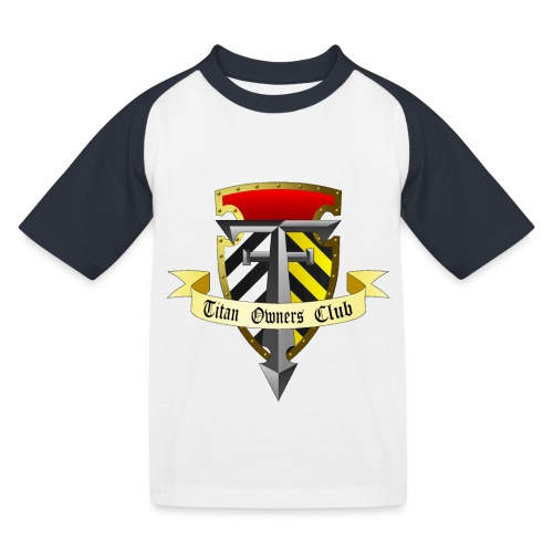 TOC Gothic Clear Background 1 - Kids' Baseball T-Shirt