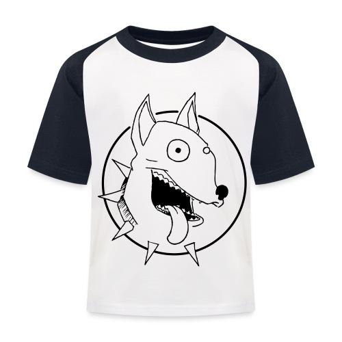 chien fou - T-shirt baseball Enfant