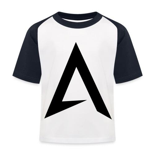 alpharock A logo - Kids' Baseball T-Shirt
