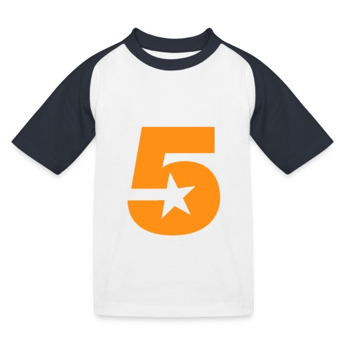 No5 - Kids' Baseball T-Shirt
