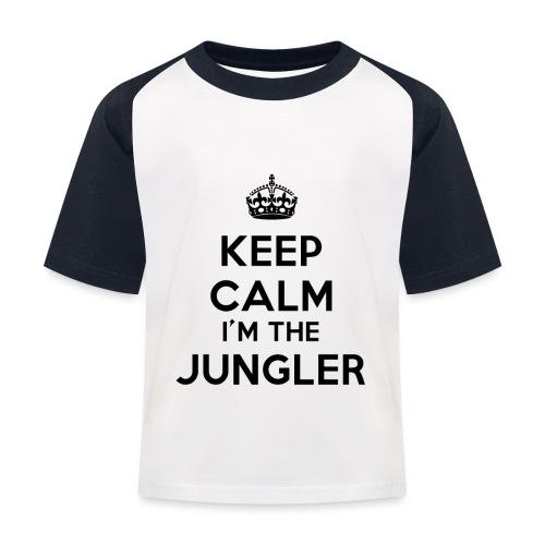 Keep calm I'm the Jungler - T-shirt baseball Enfant