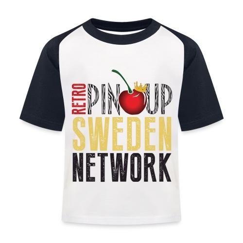 Tanktop Retro Pinup Sweden Crew utsvängd - Baseboll-T-shirt barn