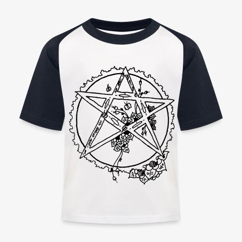 Flowergram - Kids' Baseball T-Shirt