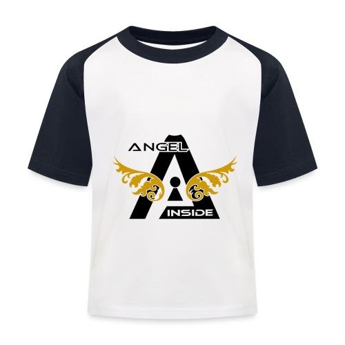 ANGEL INSIDE2-01 - Maglietta da baseball per bambini
