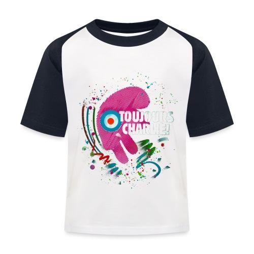 Toujours Charlie interprété par l'artiste C215 - T-shirt baseball Enfant
