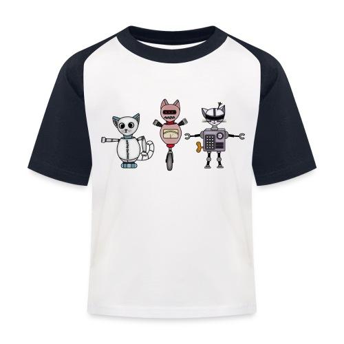 catbots - Baseboll-T-shirt barn