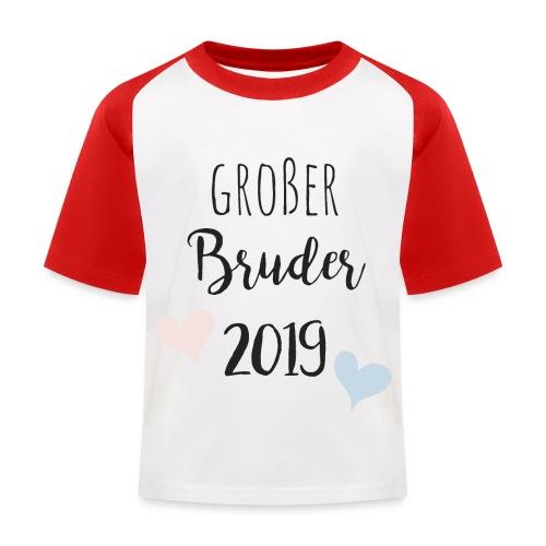 Großer Bruder 2019 - Kinder Baseball T-Shirt