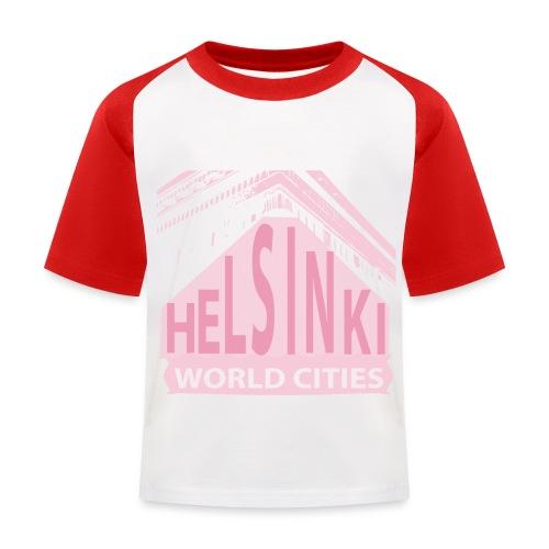 Helsinki light pink - Kids' Baseball T-Shirt