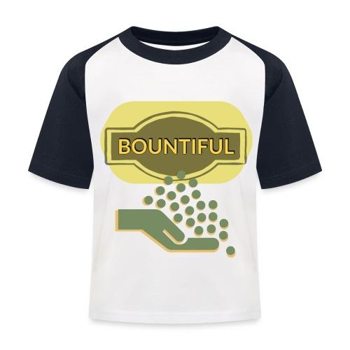 Bountiful - Kids' Baseball T-Shirt