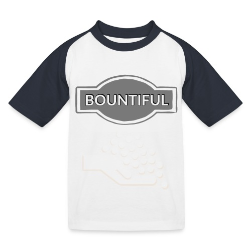 Bontiul gray white - Kids' Baseball T-Shirt