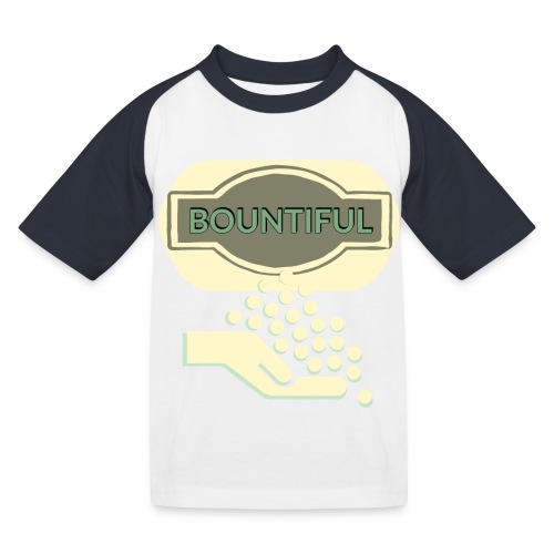 Bontifull - Kids' Baseball T-Shirt