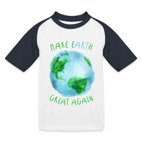 EARTH - Camiseta béisbol niño
