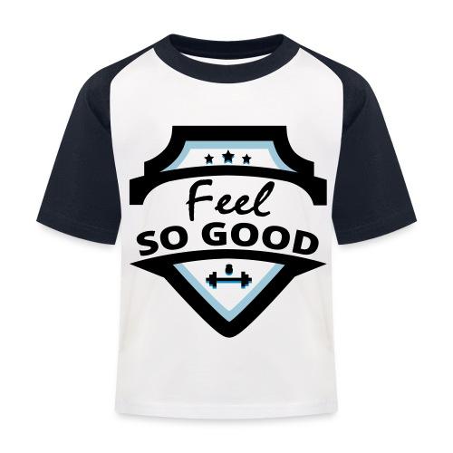 feelsogood white - Kinderen baseball T-shirt