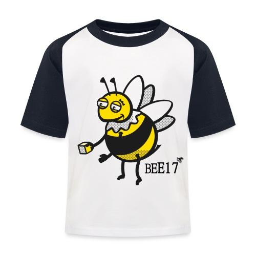 Teeny Tiny East End Bee - Kids' Baseball T-Shirt