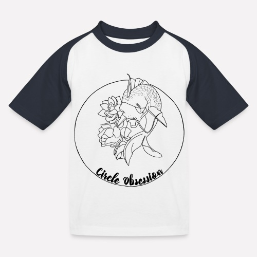 Circle Obsession - T-shirt baseball Enfant