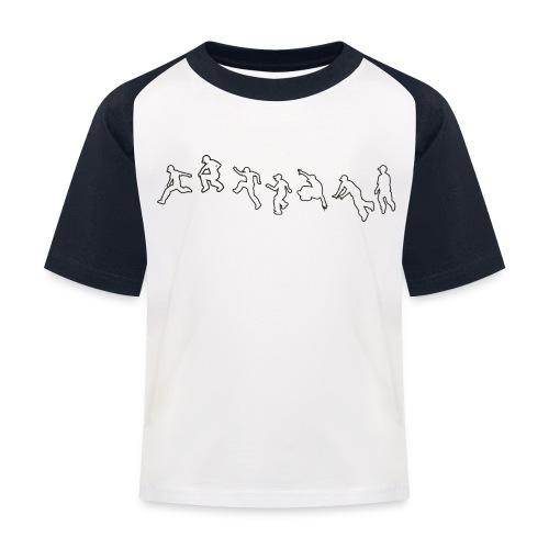 Jump obstacle - T-shirt baseball Enfant