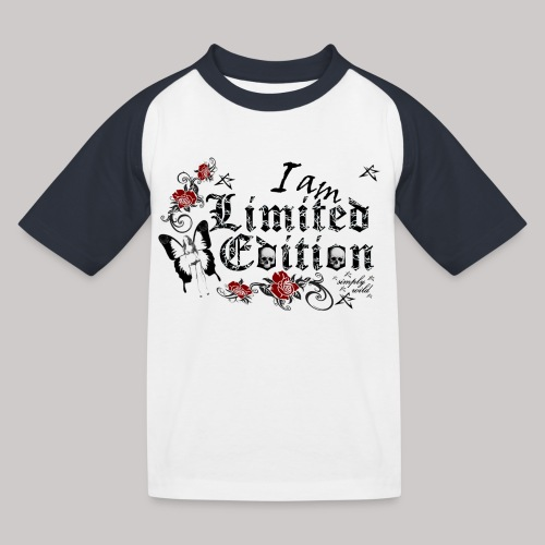 simply wild limited Edition on white - Kinder Baseball T-Shirt