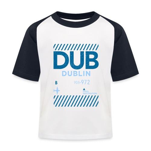 Dublin Ireland Travel - Kids' Baseball T-Shirt
