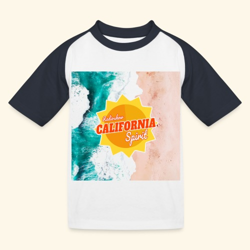 California Spirit Surfin - T-shirt baseball Enfant