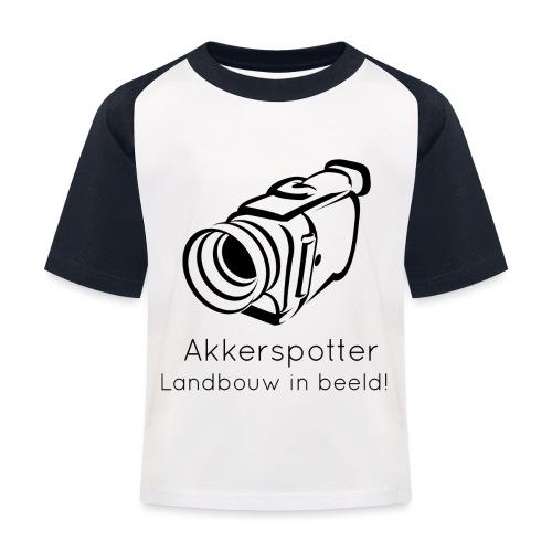 Logo akkerspotter - Kinderen baseball T-shirt
