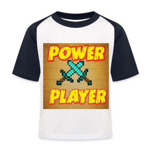 NUOVA LINEA POWER PLAYER - Maglietta da baseball per bambini