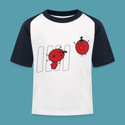 tomaatit - Lasten pesäpallo  -t-paita