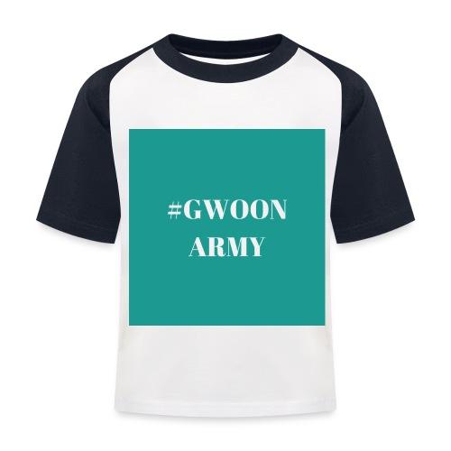 #gwoonarmy - Kinderen baseball T-shirt