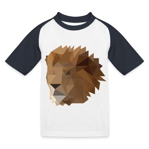 Löwe - Kinder Baseball T-Shirt